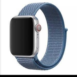 Light Blue Replacement for apple watch band nylon